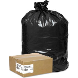 Handi-Bag® Super Value Pack Contractor Bag 42 Gallon 2.50 Mil, Black 50 Bags/Box - WBIWEB1CTR50