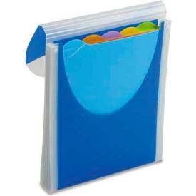 Wilson Jones Big Mouth Vertical Filer Organizer, Jacket, 10 x 12, Poly, Dark Blue by