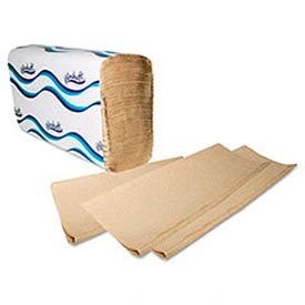 Embossed Multifold Paper Towels, 9-1/4 x 9-1/2, Natural, 250/Pack, 16/Carton