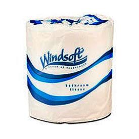Single Roll Bath One-Ply Bath Tissue, 1000 Sheets/Roll, 96 Rolls/Case - WNS2210