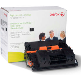 Xerox® 6R3203 Compatible Reman CE390X Extended Yield Toner, 40000 Page-Yield, Black