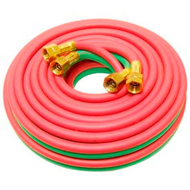 "25' Oxyacetylene Twin Hose - 9/16"" (B) Connection"