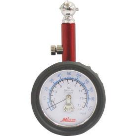 Milton® Dial Tire Gauge, 0 to 15 PSI, S-931