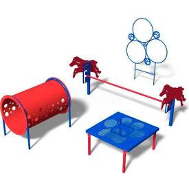 """BarkPark™ Kit 1 """"Novice"""" - Playful (Blue)"""