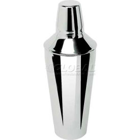 Update International Bar Shaker, 28 Oz., Stainless Steel, BSH-3P Package Count 48 by