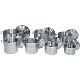 24 Quart Stainless Steel Stock Pot - Pkg Qty 4