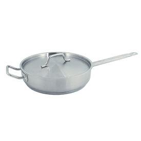 5 Quart Stainless Steel Sauté Pan - Pkg Qty 6