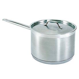 2 Quart Stainless Steel Sauce Pan - Pkg Qty 6