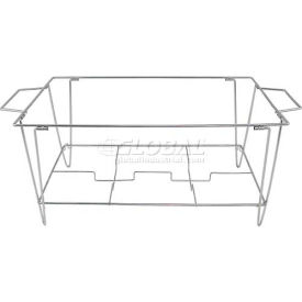 """Update International Collapsible Wire Continental Chafer Stand, 20-1/2""""L, Stainless Steel, WCS-KD - Pkg Qty 10"""
