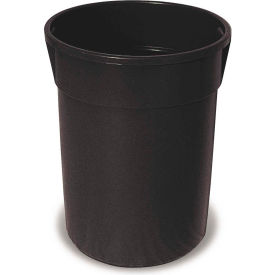 Plastic Liner for 32 Gallon Trash Receptacles - Black