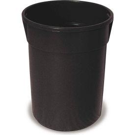 Plastic Liner for 32 Gallon Trash Receptacles - Black