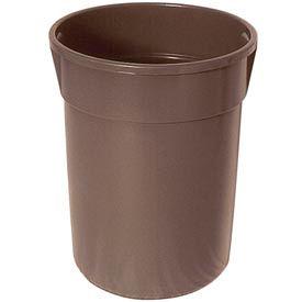Plastic Liner for 55 Gallon Trash Receptacles - Black
