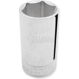"Urrea Deep SAE Socket, 5030H, 3/8"" Drive, 15/16"" Socket, 2 1/2"" Long, 6 Pt"