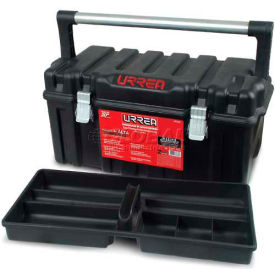 "Urrea Plastic Tool Box, CPU20A, 21""L x 10-5/16""W x 10-1/2""H"