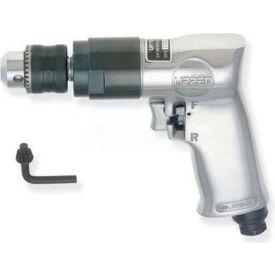 "Urrea UP789HR, 1/2"" Pistol Air Drill, 0.5 HP, 800 RPM, 4 CFM, Reversible, 90 PSI"