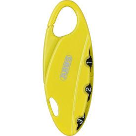 ABUS Bakpac™ 3-Digit Combination Padlock 151/20 Yellow - Pkg Qty 6