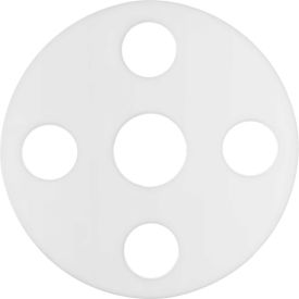 """Full Face PTFE Flange Gasket for 5"""" Pipe-1/16"""" Thick - Class 150"""