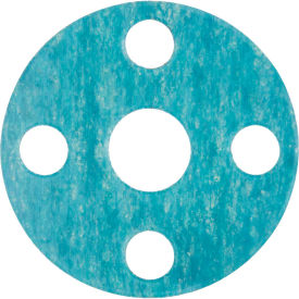 """Full Face Aramid Flange Gasket for 5"""" Pipe-1/8"""" Thick - Class 150"""