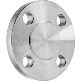 """304 SS 150 Blind Caps Pipe Flange 1-1/2"""" Pipe Size"""