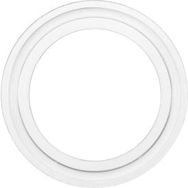"""Clean Room Medical Grade Silicone Sanitary Gasket For 4"""" Tube"""