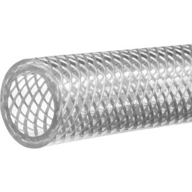 "Reinforced High Pressure Clear PVC Tubing-1/2""ID x 5/8""OD x 100 ft."