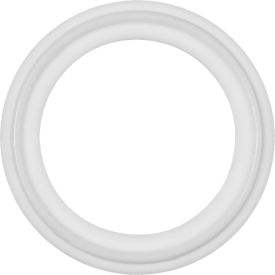 "FDA Teflon Sanitary Gasket with EPDM Core For 1.5"" Tube - Pkg Qty 5"