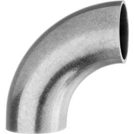"304 Stainless Steel Unpolished Short 90 Degree Elbow for Butt Weld Fittings - for 3"" Tube OD"