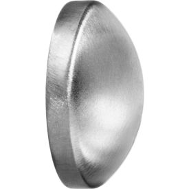 "304 Stainless Steel Polished Cap for Butt Weld Fittings - for 4"" Tube"