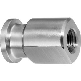 "304 SS Reducing Straight Adapter, Tube-to-Female Threaded Pipe for 2"" Tube OD x 1-1/2"" NPT Female"
