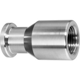 "316SS Straight Adapters, Tube-to-FNPT for Quick Clamp Ftg - for 2-1/2"" Tube OD x 2-1/2"" NPT Female"