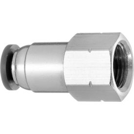 PHITUODA 10pcs Y Type Plastic Push to Connect Tube Fitting 1//4 to 1//4 Tube OD Union Y Splitter Push Tube Fittings