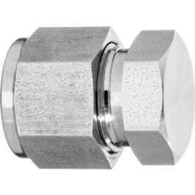 """316 SS Double-Ferrule Instrumentation Fitting -Caps for 3/4"""" OD Tubing"""