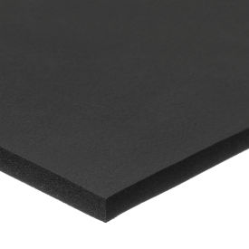 "Soft Buna-N Foam Sheet with Acrylic Adhesive - 1/2"" Thick x 12"" Wide x 24"" Long"
