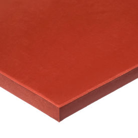 """Firm Silicone Foam Sheet with High Temp Adhesive - 1/2"""" Thick x 12"""" Wide x 24"""" Long"""