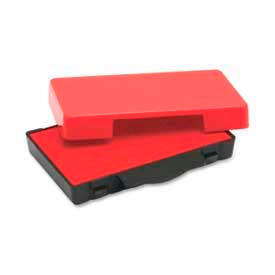 U.S. Stamp & Sign Replacement Ink Pad, For Trodat® Stamp E4822, Red