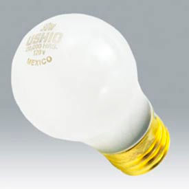 Ushio 1003214 15a15/Cl/20, 20,000 Hours, A15, 15 Watts, 20000 Hours Bulb - Pkg Qty 120