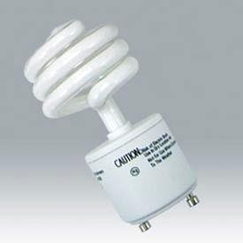 Ushio 3000544 Cf13clt/2700/Gu24, Coilight, Coil, 13 Watts, 10000 Hours- Cfl Bulb - Pkg Qty 10