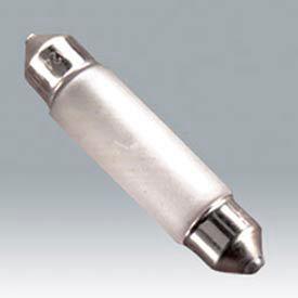 Ushio 5000755 Fst 24v-5w/F/Xx, Xenon Festoon, T3, 5 Watts, 15000 Hours Bulb - Pkg Qty 100