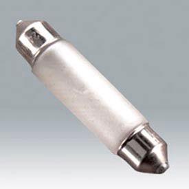 Ushio 5000765 Fst 12v-5w/C/Xx, Xenon Festoon, T10, 5 Watts, 20000 Hours Bulb - Pkg Qty 100
