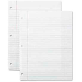 "Sparco™ Notebook Filler Paper, 8"" x 10-1/2"", College Ruled, White, 150 Sheets/Pack"