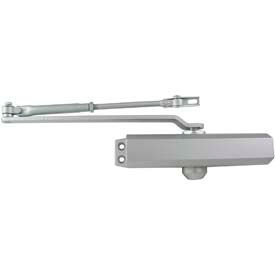 Ultra Hardware Door Closer Regular Arm #4BC - Aluminum