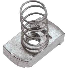 Strut Channel Nuts 5//16-18 No Spring Zinc Plated Unistrut Nut 100