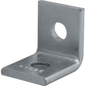 """Unistrut 1-5/8"""" 90° Fitting P1026eg, 2 Hole, Electro-Galvanized - Pkg Qty 50"""