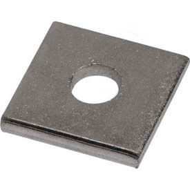 """Unistrut Square Washer P1062eg, Electro-Galvanized, 5/16"""" Package Count 100 by"""