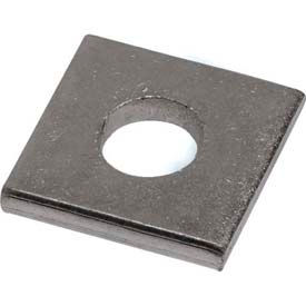 """Unistrut 1-5/8"""" Square Washer P1064eg, 1 Hole, Electro-Galvanized, 1/2"""" Package Count 100 by"""
