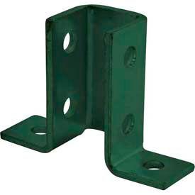 """Unistrut Strut Channel 1-5/8"""" Wing Shape Fitting P2346gr, Perma-Green® Iii - Pkg Qty 25"""