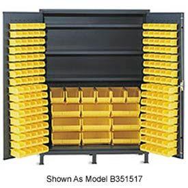 Vari Tuff Extra Wide Storage Cabinet 72x24x84 212 Bins 3 Shelves