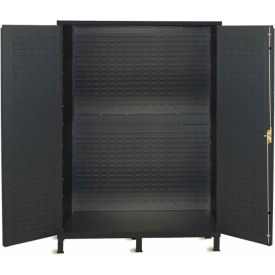 Vari-Tuff Extra Wide Storage Cabinet - 72x24x84 No Bins