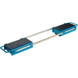Vestil Machinery Skates ASKT-12 - Adjustable - 12 Rollers - Nylon