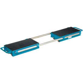 Vestil Machinery Skates ASKT-24 - Adjustable - 16 Rollers - Steel